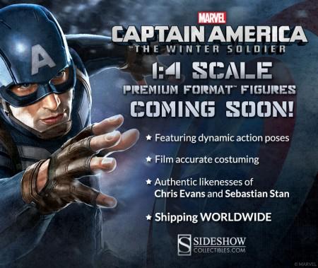 Captain America Statues