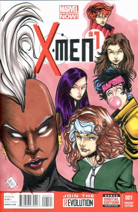 Hand Drawn Comic Book Cover