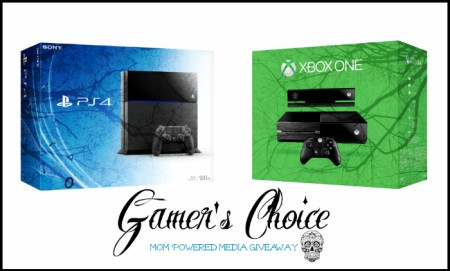PS4 or XBOX One Giveaway