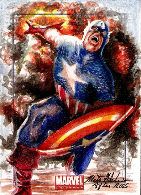 Captain Amercia Art