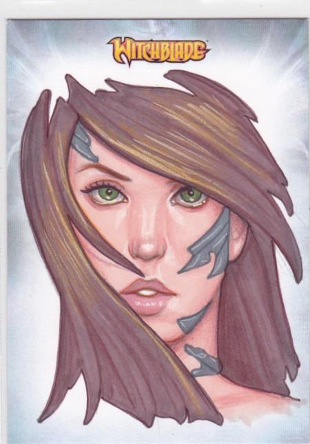 Sketch Card of Witchblade