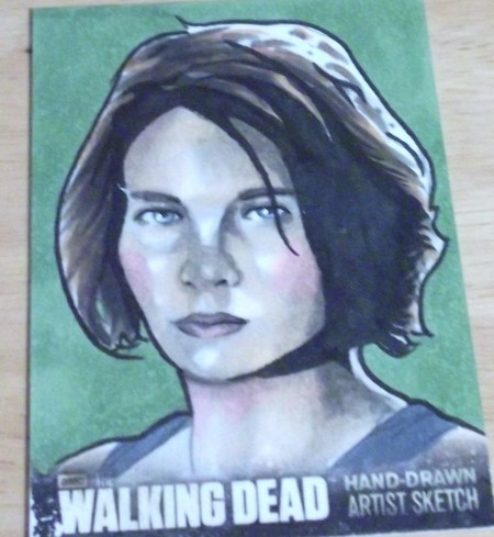 Maggie from The Walking Dead