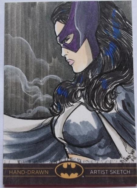 Huntress Sketch Card
