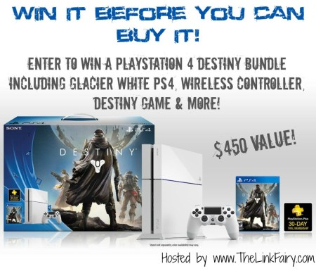 PS4 Giveaway