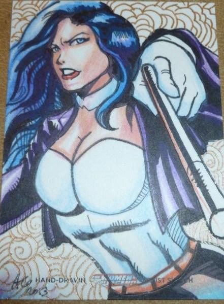 Zatanna drawn by Allen Geneta