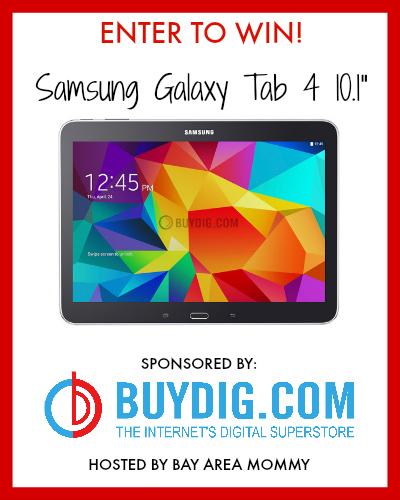 Galaxy Tab 4 Giveaway
