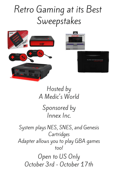 Retro Gaming Sweepstakes