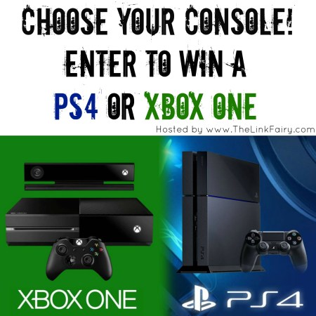 Win an XBOX One or PS4 #giveaway #win #prizes #sweepstakes #gaming