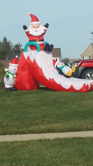 Santa Slide