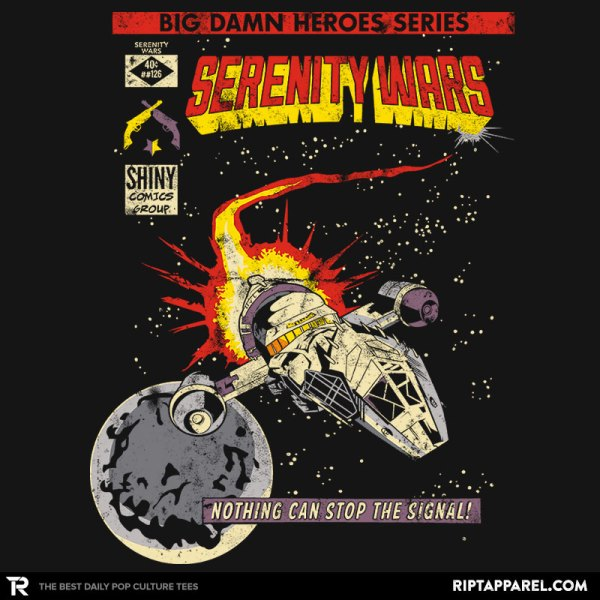 Firefly Graphic T-Shirt I loved this show, so miss it, grab this awesome design today! Firefly, Serenity, T-Shirt, Epic, Cool, Geeky