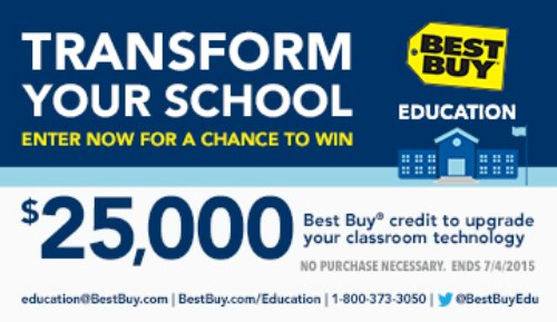 Help your school get upgraded today! @BestBuy @BestBuyEdu #BestBuyEducationEntry #ad