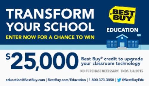 Help your school get upgraded today! @BestBuy @BestBuyEdu #BestBuyEducationEntry #ad