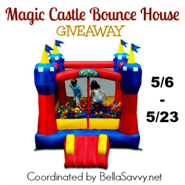 Bounce House Giveaway Ends 5/23 Kids and Children would love this, imagine the fun!