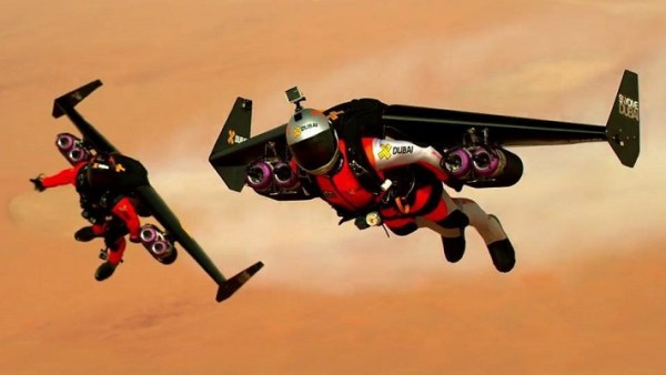 Jetpacks, I so want one! Such an awesome feat, I would so do this!
