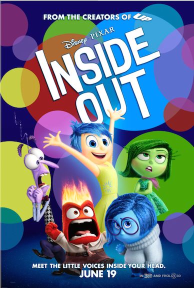 Inside Out Movie Poster Teaser Disney Pixar A fun movie for the whole family to see
