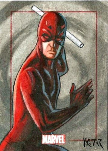 Sketch Card Artist Frank Kadar of Sketch Card Daredevil