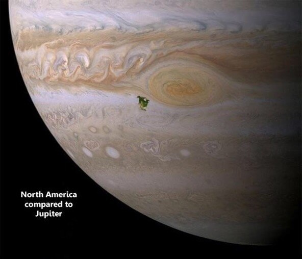 Just amazing how small we really are.