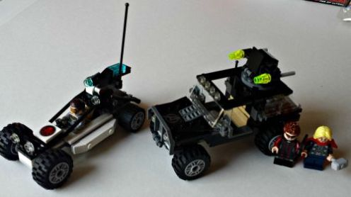 Avengers Hydra Showdown Lego Set 6