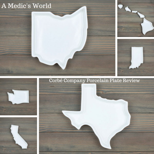 The Fifty United Plates Collection from the Corbe Company Review Here is just a sampling of the Plates from different States, they are Microwave Safe, Oven Safe, Dishwasher Safe, and a perfect gift idea or housewarming gift.