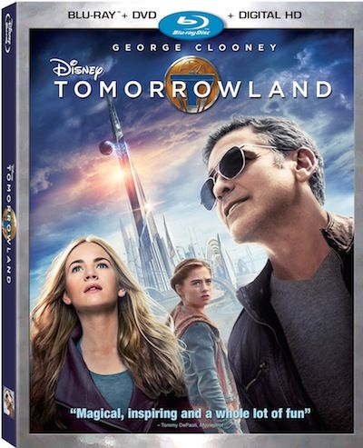 Tomorrowland released on Blu-ray™ Combo Pack, Digital HD and Disney Movies Anywhere October 13th