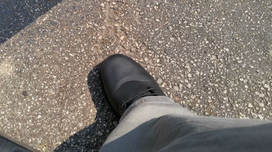 Looking Good and Feeling Protected with Lugz Boots Great pair of ankle boots reviewed on A Medic's World they have this up to size 15 as well!