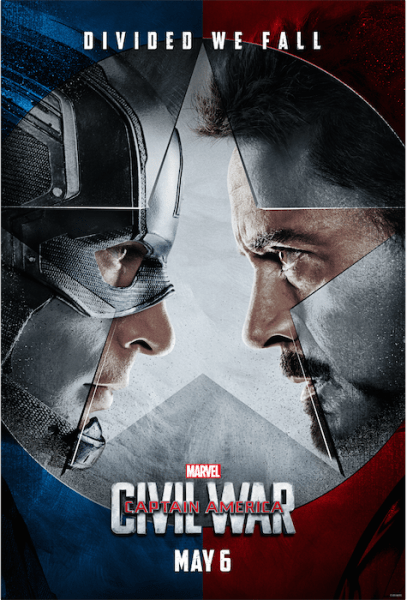 Marvel's Captain America: Civil War Trailer - It is Epic! The Movie is coming out May 6th, 2016. I can't wait!