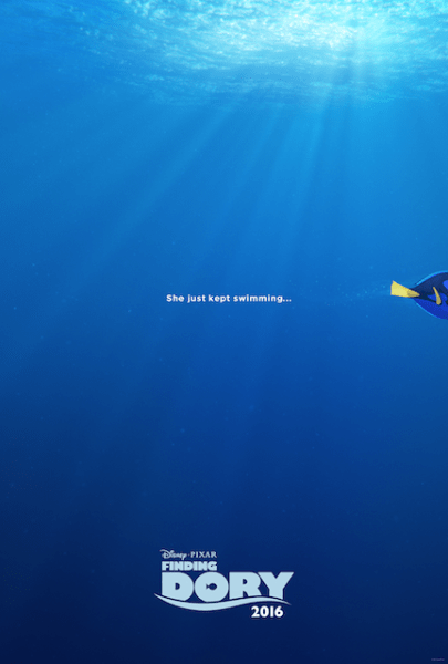 New Teaser Trailer and Poster for Finding Dory in 2016 here is the teaser poster for Finding Dory coming out in 2016 from Disney #disney
