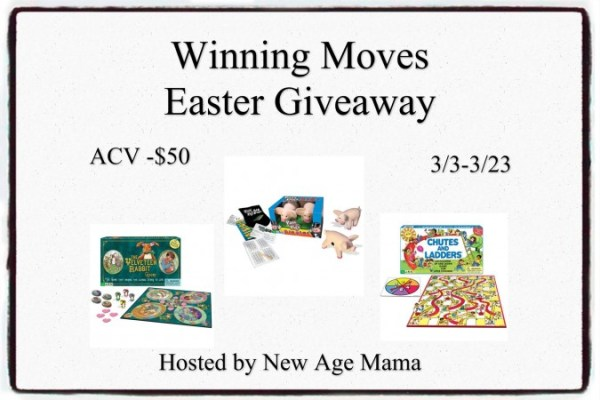 Win a Set of Winning Moves Games for Kids Ends 3/23 Good Luck from Tom's Take On Things