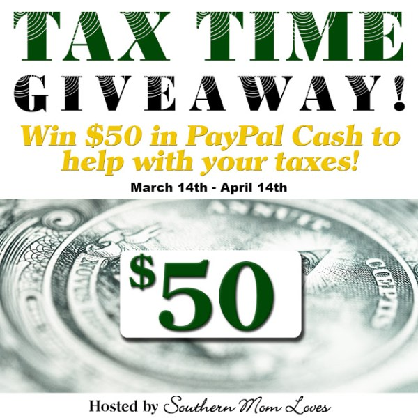 Tax Time Paypal Cash Giveaway ~ Win $50 Ends 4/14 Good Luck from Tom's Take On Things