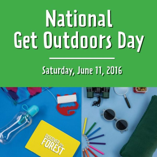 National Get Outdoors Day - What will you do?