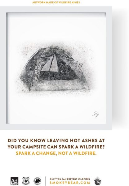 Forest Fires can be prevented ~ Help Smokey keep them safe!