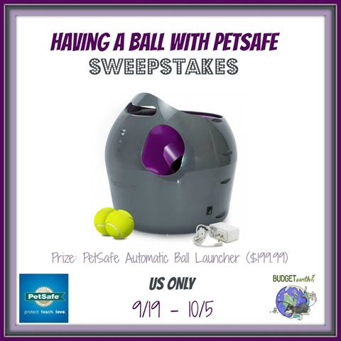 PetSafe Automatic Ball Launcher Giveaway - Keep your dogs happy!