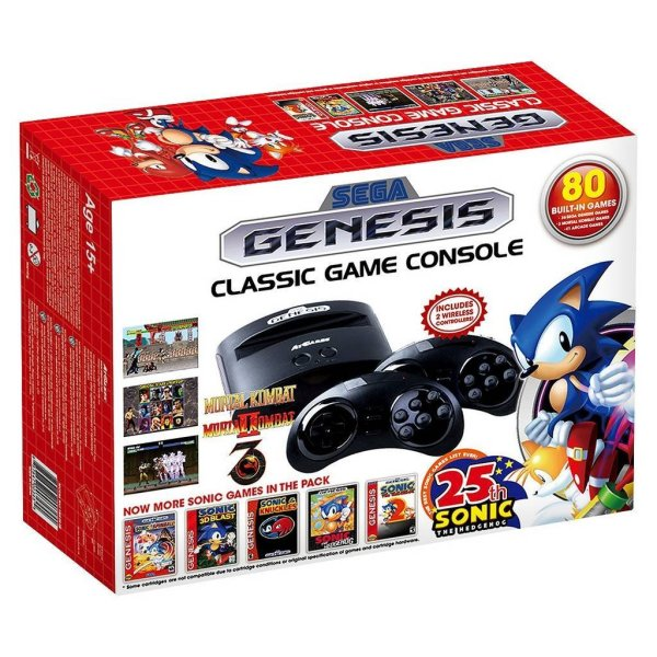 2016 Holiday Gift Guide Idea - SEGA Genesis classic game console