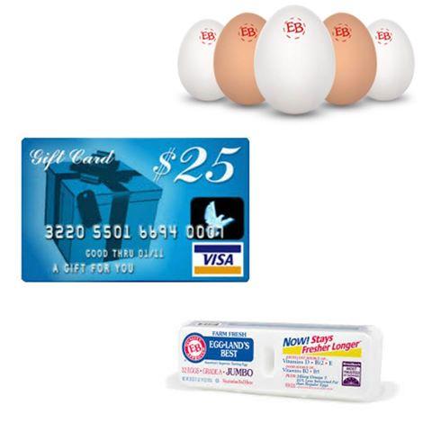Eggland's Best Giveaway - $25 Visa gift card