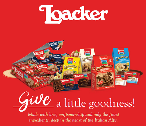 Loacker Snacks Prize Pack Giveaway ~ Ends 7/5