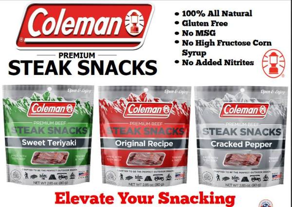 Win some Coleman Steak Snacks Ends 8/31