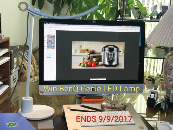 BenQ Genie LED LampGiveaway Ends 9/9