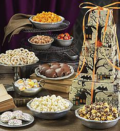 The Popcorn Factory Fright Night 7-Tier Tower Giveaway Ends 10/12