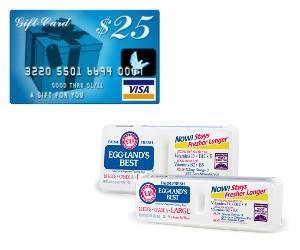 Enter to win a $25 Virtual Visa Gift Card Ends 11/17