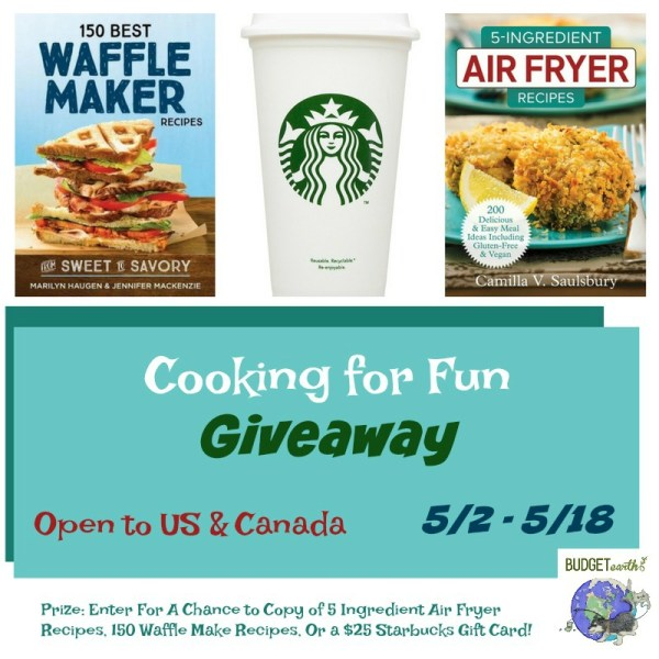 Cooking For Fun Giveaway ~ 3 Winners Ends May 18th