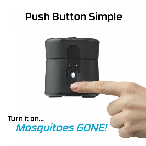 Mosquito protection with the Thermacell Radius Zone Mosquito Repellent ~ Stop getting bit outside with this easy to use gadget ~ Check out my review at Tom's Take On Things