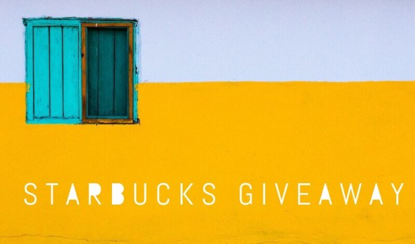 $100 Starbucks Gift Card Giveaway If you love coffee this is the giveaway for you! Ends 9/18