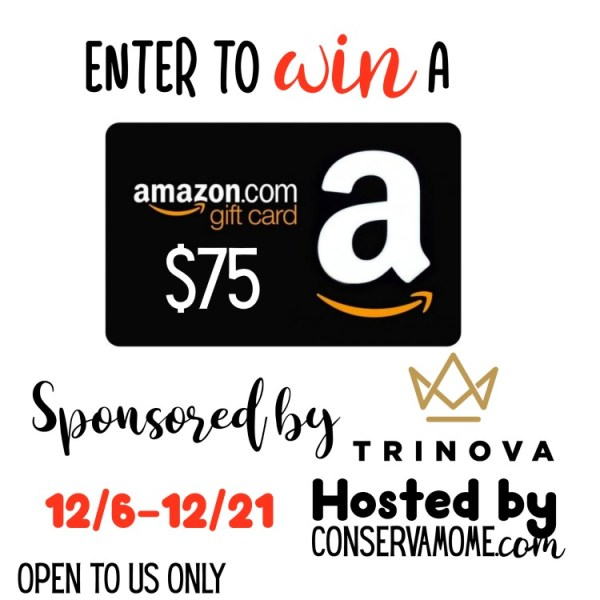 Win a $75 Amazon Gift Card ~ Ends 12/21 What would you buy if you won this giveaway? Good Luck. ~Tom