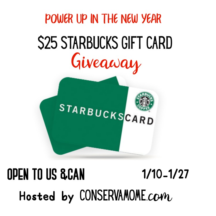 $25 Starbucks Gift Card Giveaway Love your coffee? Enter to win. Ends 1/27/2019 and be sure to share. Good Luck. ~Tom