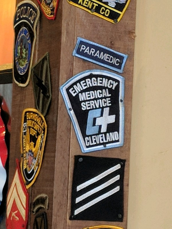 Cleveland EMS Paramedic Patch