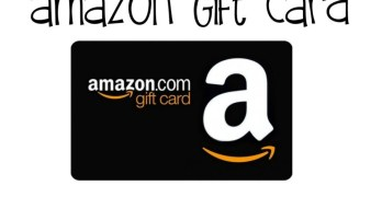 25 Dollar Amazon Gift Card Giveaway