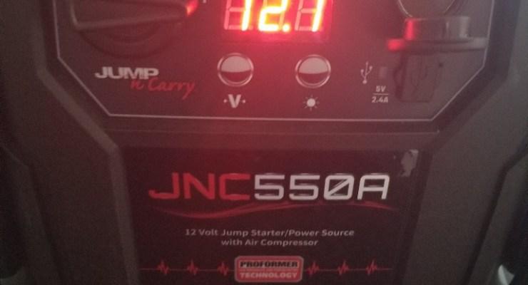 JNC550A Jump Starter