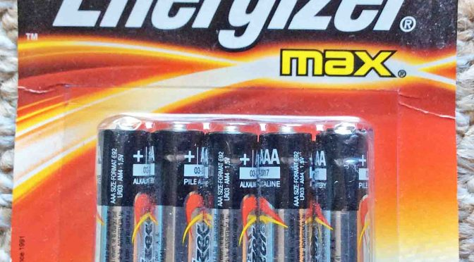Energizer Max Alkaline Battery Review