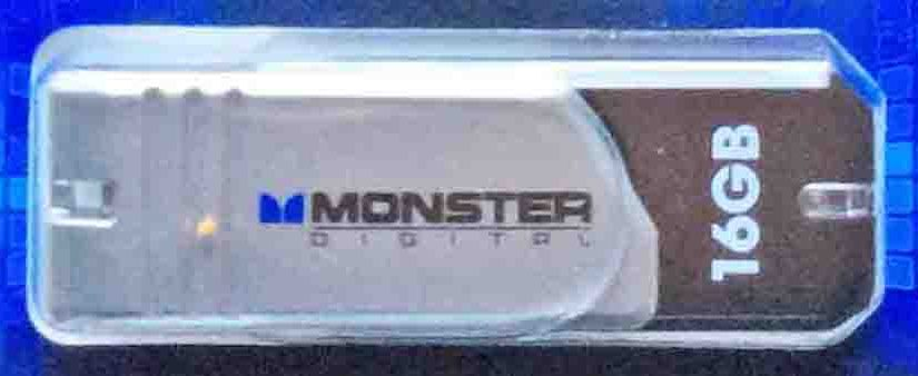 Monster Coppa Series USB 2.0 16GB Flash Pen Thumb Stick Drive Review