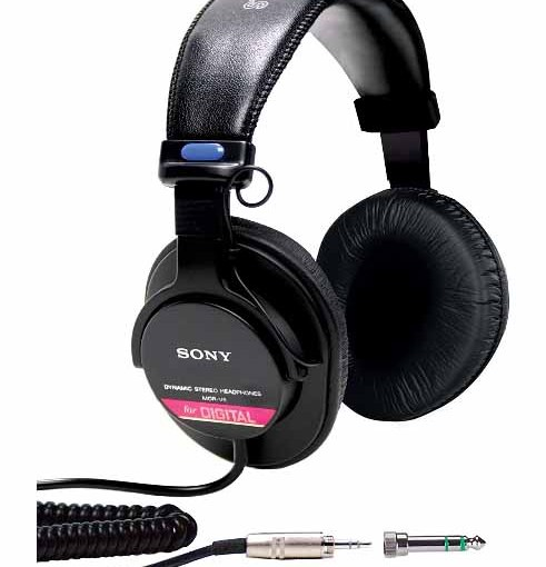 Sony MDR V6 Studio Monitor Headphones Review